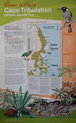 DSCN1517 (slackest2) Tags: cape tribulation water rainforest wet mountains trees forest tree daintree national park scrub outback wood plant weed foliage flower bush tucker sign tropics