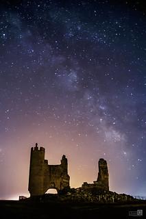 Castillo y Via Lactea (Explore 9-7-2018)