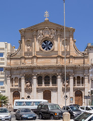 Church in Sliema (Lee Rosenbaum) Tags: sliema malta building maltesecross church architecture tassliema mt
