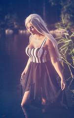 (Øyvind Bjerkholt (Thanks for 57 million+ views)) Tags: sunsetlight ambientlight naturallight fashion portrait beauty blonde dreamy sensual sexy beautiful gorgeous pretty serene woman girl female she canon dof bokeh classy feminine elegance warm arendal norway lake