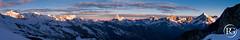 """""""Le réveil des géants"""" - Premiers rayons de soleil sur le Mont Rose et la Couronne Impériale - Valais, Suisse. (Raphaël Grinevald • Photographe) Tags: raphaelgrinevald reflex refuge nikon nikkor d800 50mm f14 afd montrose cervin matterhorn cervino valais suisse swiss switzerland zermatt saasfee saas fee täschhütte täsch alphubel gornergrat dent dherens herens weisshorn blanche zinalrothorn couronne impériale lyskamm mont blanc breithorn panorama montagne mountain sunrise nature earth"""