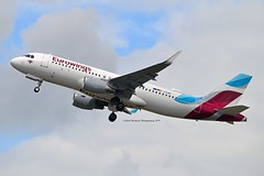 Eurowings D-AEWP Airbus A320-214 Sharklets cn/7377 @ EDDL / DUS 16-06-2017 (Nabil Molinari Photography) Tags: eurowings daewp airbus a320214 sharklets cn7377 eddl dus 16062017
