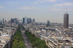 Paris (lazy south's travels) Tags: paris france french urban capital city building architecture scape cityscape tree line boulevard sky scraper skyscraper scene