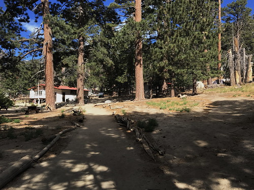 The Long Valley Ranger Station at el. 8,400', where you get your Wilderness permit and water.