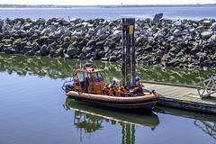 Pre-cruise instructions (Tony Tomlin) Tags: whiterockbc britishcolumbia canada pier ribi whiterockpier tourboat dock