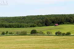 Paysage agricole, Cantons-de-l'Est, QC (Eve-Marie Roy) Tags: evemarieroy costard ferme farm grange barn cabane shack bâtiment building village rurale rural campagne country countryside old cantonsdelest easterntownships quebec canada vallons terre agicole paysage monteregie