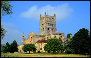 The Abbey,Tewkesbury.
