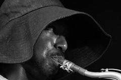 Shabaka Hutchings & Sons of Kemet _ Django Jazz Festival 2018 (thierry_meunier) Tags: djangojazzfestival fontainebleau france samoissurseine shabakahutchings sonsofkemet ambiance groupe homme jazz man music musicians musiciens musique rythm saxophone scene tuba