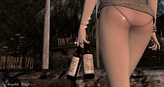 Beer on the Beach at Nevgilde Forest detail (Neaira Aszkenaze) Tags: nevgilde nevgildeforest forest beach beer bikini butt rkkn mimikiri kunglers meva heidi mevaheidi bento fate handboser bentopose animare heart fanatik studioskye sri cae junbug ~neas~ tram outdoors hangout party friends drinks dancing music friendly redhead