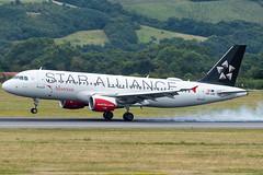 A320_LH2328 (MUC-VIE)_OE-LBZ (StarAlliance Livery)_2 (VIE-Spotter) Tags: vienna vie airport airplane flugzeug flughafen planespotting wien