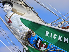 Look out for pirates (Couldn't Call It Unexpected) Tags: yacht sailing ship mascot sailor figurehead