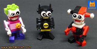 LEGO TINY BATMAN JOKER HARLEY