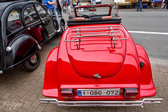 Pimped Citroen 2CV II (thanks for 900k views) Tags: 2cv pimped2cv pimpedcitroen2cv classic redcitroen citroen 6070 bmeijers bertmeijers canon