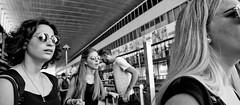 Are you ignoring me!! (Baz 120) Tags: candid candidstreet candidportrait city candidface candidphotography contrast street streetphoto streetphotography streetcandid streetportrait sony a7 rome roma europe women monochrome monotone mono noiretblanc bw blackandwhite urban life primelens portrait people pentax20mm28 italy italia girl grittystreetphotography faces decisivemoment strangers