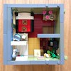 Mrs Miyagi's Flowers (craigslegostuff) Tags: lego florist modular bed bedroom apartment bathroom