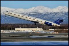 N73444 Everts Air Cargo (Bob Garrard) Tags: md80sf aircraft llc n73444 everts air cargo mcdonnell douglas md82 american airlines anc panc