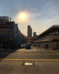 Sundown (Br@jeshKr) Tags: sundown singapore brajeshart chinatown sunset sunsetglow evening sky sun mobile iphonex