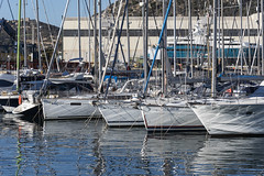 Sailboats in Cartagena (dcnelson1898) Tags: cartagena spain coast port cruise travel vacation hollandamericaline oosterdam mediterraneansea boat ship