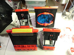 Omega Update WIP 1b (DJ Quest) Tags: lego spyrius moc wip update space ship adding more red