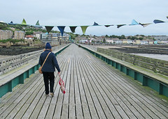 Clevedon, North Somerset, The Pier (Tudor Barlow) Tags: clevedon somerset england pier seaside bristolchannel canonpowershotsx620hs summer listedbuilding gradeilistedbuilding
