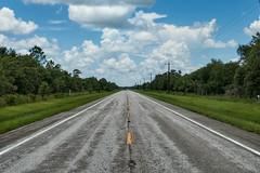 Florida Road (And Hei) Tags: florida myakka myakkariver sarasota arcadia street countryside sky clouds himmel