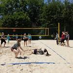 BeachVB Sporttag Fröschi 20.6 Einsatz total