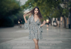 Krizia (Vagelis Pikoulas) Tags: girl woman women girls bokeh canon 6d sigma art f14 portrait athens greece may spring 2018 dress beautiful beauty photoshoot lightroom