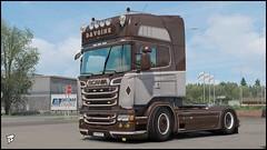 "Scania R580 ""Davoine Transport"" (Bepreeh) Tags: ets ets2 euro truck simulator 2 scania r580 davoine transport akeri"