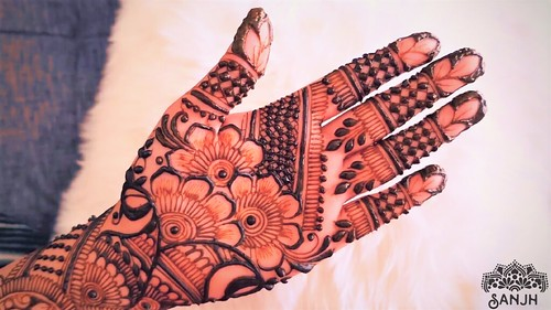 Bridal Arabic Mehndi Design A Photo On Flickriver