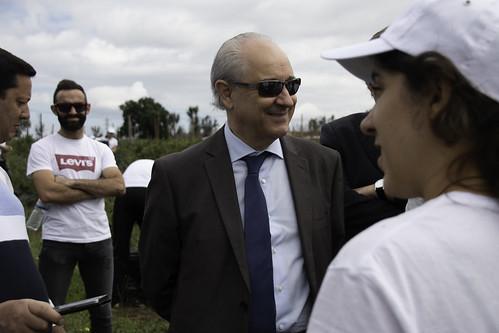 Rui Rio em visita à Lusoberry