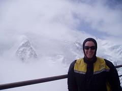 Aiguille Du Midi cable car station and Mont Blanc (Rocky Sharp) Tags: aiguilledumidi montblanc
