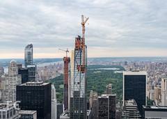 Midtown Manhattan with 53W53 centre (gravesVpelli) Tags: 53w53 jeannouvel midtown newyork newyorkcity residential topoftherock diagrid supertall
