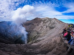 Mount Bromo | 2018 (rogerganga) Tags: gopro volcano indonesia wideangle bromo mount east java activevolcano mountain active rinjani tengger semeru national park mt travel photography ijen crater sunrise goprophotography mountbromo mountbromogopro lava weekend weekendgetaway traveller traveldiaries vibes goodtimes smoke clouds smokecloud