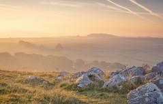 Limestone Rise (Captain Nikon) Tags: thepeakdistrict derbyshire buxton brantside hindon england landscapephotography sunrise morninglight limestone layers hillheadquarry moods landscape nikon18105mm nikonphotography mist