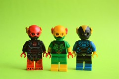 Speedsters (th_squirrel) Tags: lego dc comics figbarf minifig minifigs minifigures minifigure