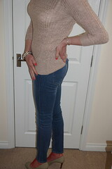 Casual's good ... but heels are better (Anna Vinny) Tags: ass bum crossdresser legs heels jeans highheels tights tgurl longlegs sissy skinnyjeans pumps submissive tranny transgurl