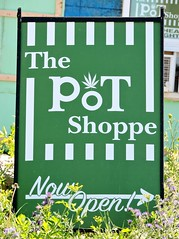 The PoT Shoppe (Will S.) Tags: mypics sign signs shannonville tyendinagamohawkterritory cannabis weed pot herb grass ganja maryjane marijuana ontario canada dispensary illegal blackmarket firstnations mohawk haudenosaunee iroquois belleville deseronto quinteregion quintearea bayofquinte quinte toking toke bong pipe joint buds dispensaries farmersmarket recreational logo bud