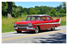 Mr. Belvedere. Virtual Car Cruise 15. Butler, PA (bobchesarek) Tags: plymouth 1958 belvedere tailfins classic vintage butlermegacruise2018