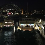 Ferries at night thumbnail