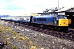 45136 Gateshead 100786 (silvermop) Tags: locos diesellocos brblue class45 gatesheadmpd