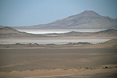 The Great Salt Desert, Dasht-e Kavir (onurbwa51) Tags: train desert iran persia mashhad yazd dashtekavir travel landscape mountains sand saltlakes