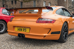 GT3 RS Orange (syf22) Tags: car automobile auto autocar automotor motor motorcar motorised vehicle porsche porscheclubgb porscheclubgbregion2 pcgb pcgbscottishregion pcgbr2 gt3rs 911 991 orange rear rearengine rearend ass arse flatsix flat6 boxerengine concours