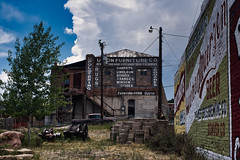 Union Furniture Co. (Kris P. Bacon) Tags: colorado old decay abandoned ghost sign furniture history mines gold silver sky
