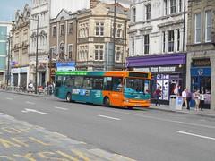 Cardiff Bus 513 (Welsh Bus 18) Tags: cardiffbus transbus dart slf super pointer 2 513 cn53amk 41seater stmarysstreet cardiff