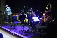 Steve Williamson Trio (2018) 05 - with String Ting (KM's Live Music shots) Tags: jazz greatbritain stevewilliamson stringting ligetiinwonderland fridaytonic southbankcentre