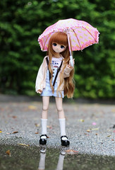 Rainy day (Nina's Doll *MAKEUP COMMISSION CLOSED*) Tags: volks mdd mini dollfie dream ddh01 head 01 custom custo makeup repaint msd anime doll