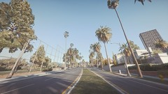 Trees | GTA V (Stellasin) Tags: angeles gaming game dark darkness car cars beauty beautiful buildings blur city clouds downtown mods weather reflection graphics gta gtav grass hot highway photography sky los mountains night road trees screenshot sun sunrise sunset v
