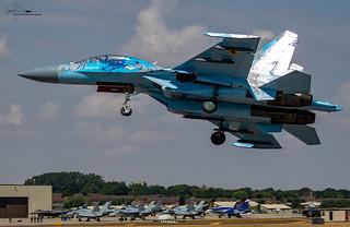 Ukranian Air Force Sukhoi 27 Flanker