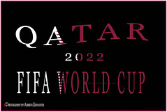 QATAR 2022 FIFA WORLD CUP. NEW YORK CITY. (ALBERTO CERVANTES PHOTOGRAPHY) Tags: qatar catar fifa fifaworldcupqatar2022 worldcupqatar 2022 worldcup fifaworldcup soccer futbol football sport deporte sign wrinting macro closeup bandera flag cup world text design diseño soccerball countries country champion team goal gol indoor outdoor blur retrato portrait photography photoborder photoart luz light color colores colors brightcolors brillo bright icono iconic creative abstract texture blackbackground fieldgame trophy greeting historia history numbers colours game play