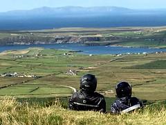 Bikers.... (Ireland) - (Shot by Diego) (Deneb56) Tags: ireland bike bikers moticicletta paesaggi paesaggio landscapes landascape diego viaggio viaggi